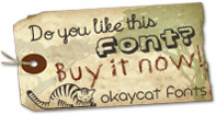 Buy Okaycat fonts!
