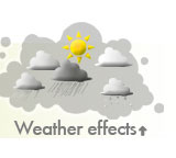 Weather effects, weather system! Make it rain or snow!